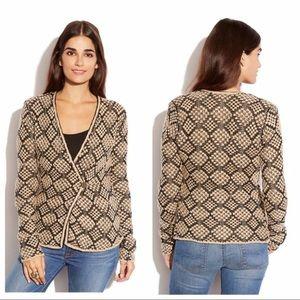 NWOT Lucky Brand Sweater Blazer